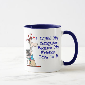 Ame minha caneca de café de Puter