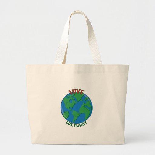 Ame nosso planeta bolsa para compra