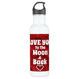 Ame-o à lua & à garrafa de água traseira