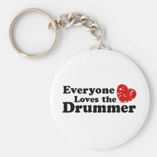 Ame o baterista chaveiro