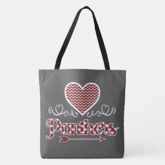 Ame o bolsa personalizado panteras (obscuridade -