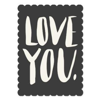 Ame-o cartão liso Scalloped cinzas Convite 12.7 X 17.78cm
