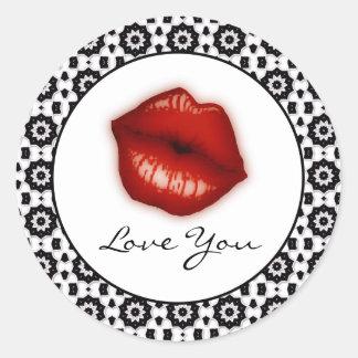 Ame-o: Etiquetas dos lábios