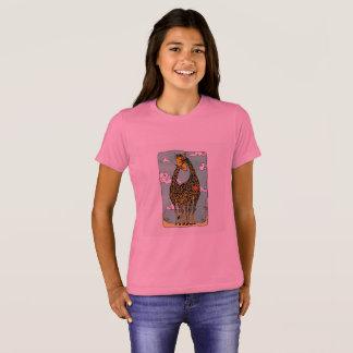 Ame o mundo que você está dentro camiseta