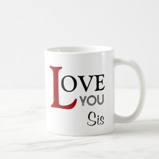 Ame-o nome do costume do Sis Caneca De Café