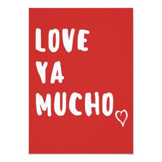 Ame-o o cartão dos namorados de Mucho