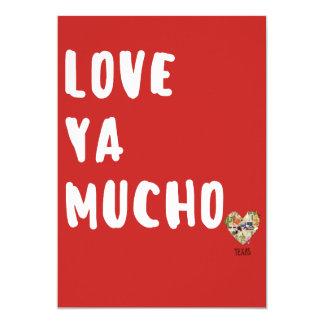 Ame-o o cartão Texas dos namorados de Mucho