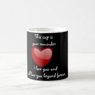 Ame-o para sempre - copo de café caneca