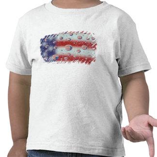 America do Norte, EUA, WA, Redmond, bandeira dos Tshirts