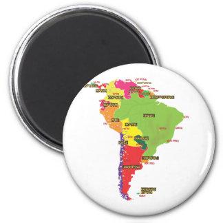 Ámérica do Sul Imã