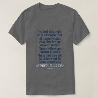 América é uma ideia - uma camisa de MisterP