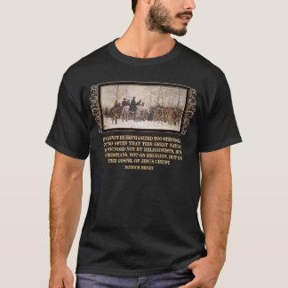 América foi fundada no evangelho do Jesus Cristo Camiseta