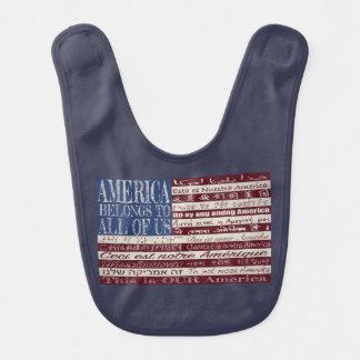 América pertence a todos nós babador