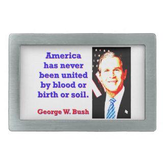 América tem nunca - G W Bush