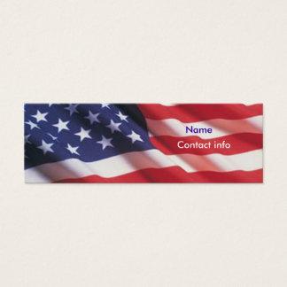 Americana Cartão De Visitas Mini