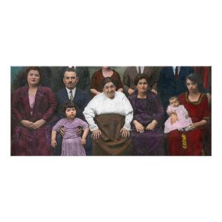 Americana - esta é minha família 1925 modelos de panfletos informativos