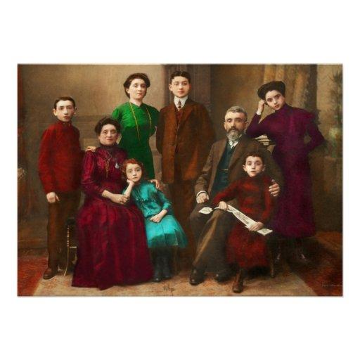 Americana - família de Savatsky Convites Personalizado