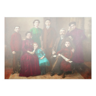 Americana - família de Savatsky Convites Personalizados