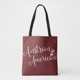 Americano austríaco a bolsa de compra entrelaçada