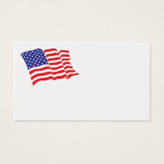 Americano-Bandeira Cartão De Visitas
