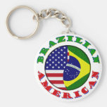 americano braziian chaveiro