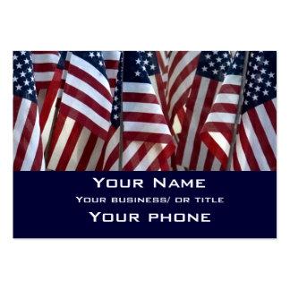 Americano Cartão De Visita Grande