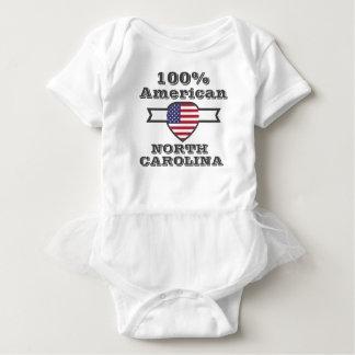 Americano de 100%, North Carolina Body Para Bebê