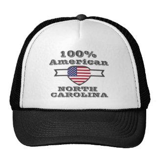 Americano de 100%, North Carolina Boné