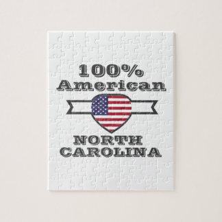 Americano de 100%, North Carolina Quebra-cabeças