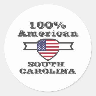 Americano de 100%, South Carolina Adesivo