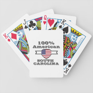 Americano de 100%, South Carolina Baralhos De Pôquer