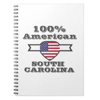 Americano de 100%, South Carolina Cadernos