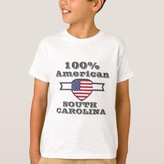 Americano de 100%, South Carolina Camiseta