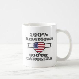 Americano de 100%, South Carolina Caneca De Café
