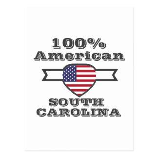 Americano de 100%, South Carolina Cartão Postal