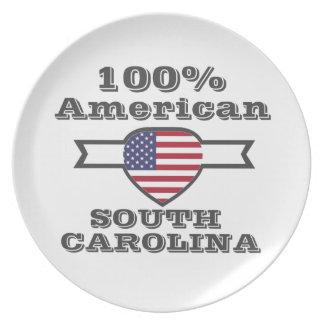 Americano de 100%, South Carolina Louças De Jantar