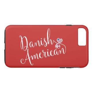 Americano dinamarquês capa de telefone entrelaçada
