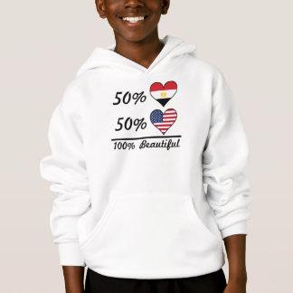 Americano do egípcio 50% de 50% 100% bonito