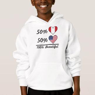 Americano dos Peruvian 50% de 50% 100% bonito