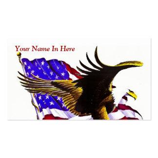 Americano Eagle Modelos Cartoes De Visitas