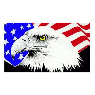 Americano Eagle Modelos Cartao De Visita