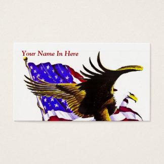 Americano Eagle Cartão De Visitas