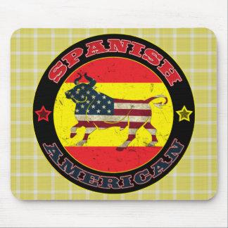 Americano espanhol Bull Mousemat Mousepad