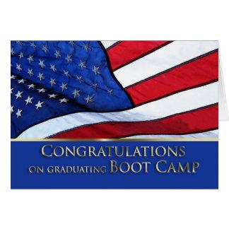 Americano Fla das felicitações da graduação de Cartão Comemorativo