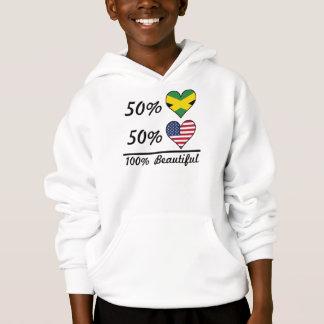 Americano jamaicano de 50% 50% 100% bonito