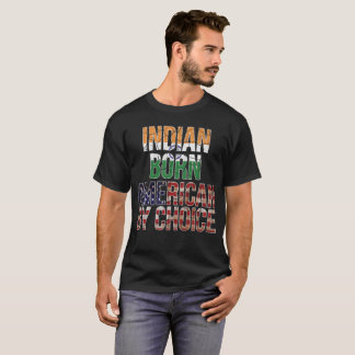 Americano nascido indiano pela camisa bem