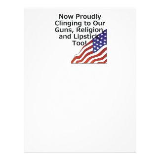 Americano orgulhoso do T Panfletos Coloridos