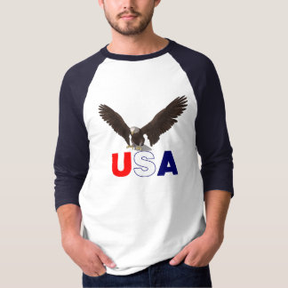 Americano orgulhoso Eagle T-shirt