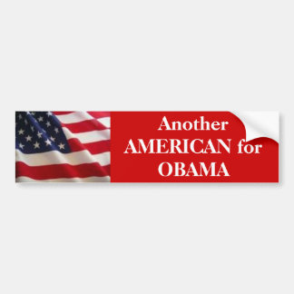 Americano para Obama Adesivo Para Carro