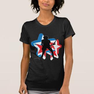 Americano Rockstar Camisetas